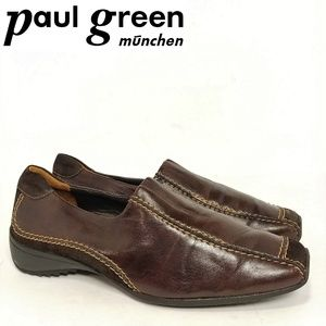Paul Green Leather/Suede Flats Sz 7.5